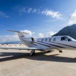 Частный перелет на Cessna CJ1+