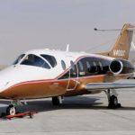 Частный перелет на Nextant 400XTi
